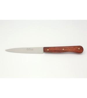 Couteau d'office palissandre soie