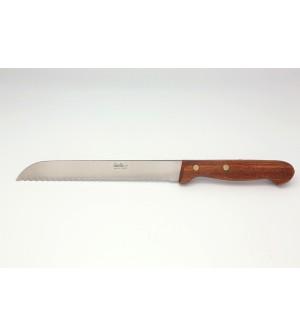 Couteau pain palissandre 17 cm demi soie