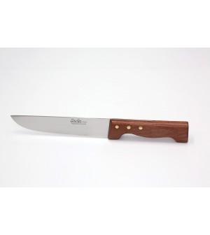 Couteau boucher manche palissandre lame inox 11 à 35 cm