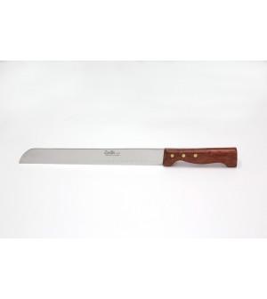 Couteau pain manche palissandre lame 25 cm